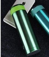 ホットステンレス鋼真空カップ魔法瓶旅行コーヒーティー断熱フラスコマグ旅行マグボトル350ミリリットル