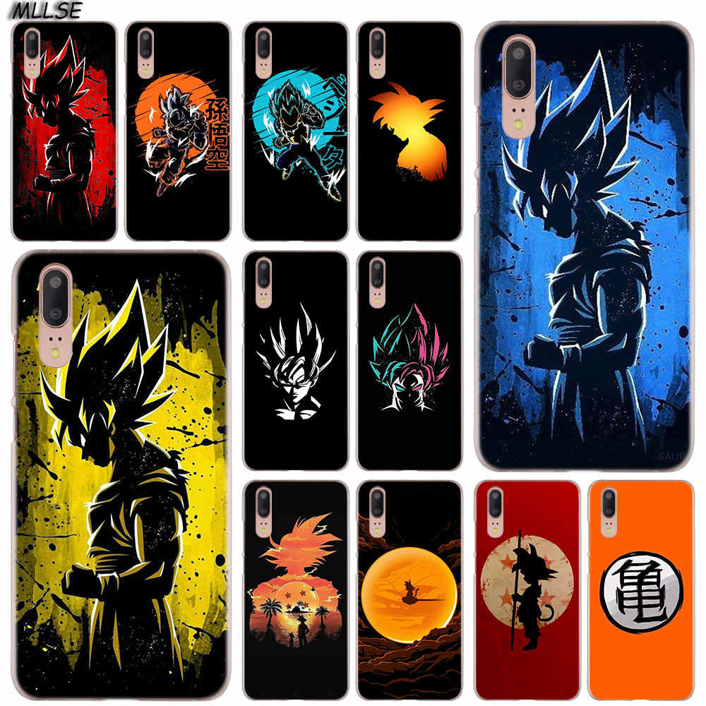 MLLSE Dragon Ball Art Fashion Clear Case Cover for Huawei P30 P20 P10 P9 P8 Lite 2017 P30 P20 Pro Mini P Smart Plus Cover Hot