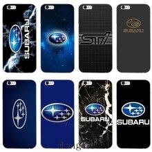 Автомобильный логотип Subaru мягкий чехол для телефона для huawei P20 mate 20 pro lite Y6 Y7 Y9 prime Honor 7A 8C 8 X; большие размеры 9, 10