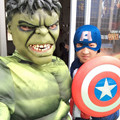 Captain America SpiderMan Hulk Ironman Iron Man Cosplay Costumes For Adult