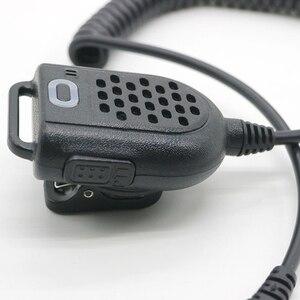 Image 5 - Mini LED Shoulder Speaker Mic For KENWOOD TYT F8 BAOFENG UV5R Retevis Radio Handheld Walkie Talkie Microphone Accessories