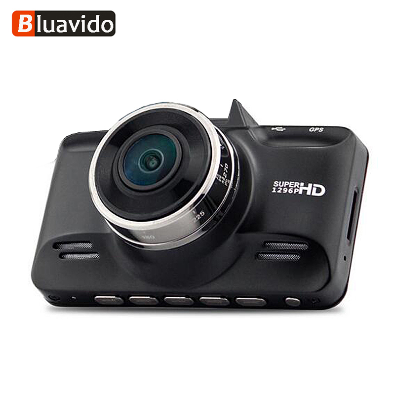 Bluavido Ambarella A7 Car DVR 1296P HDR Full HD 1080P Video Camera Recorder GPS Logger Night Vision Dash Camera Dashcam G-Sensor peppa pig игровой набор спортивная машина 24068 4 фигурки