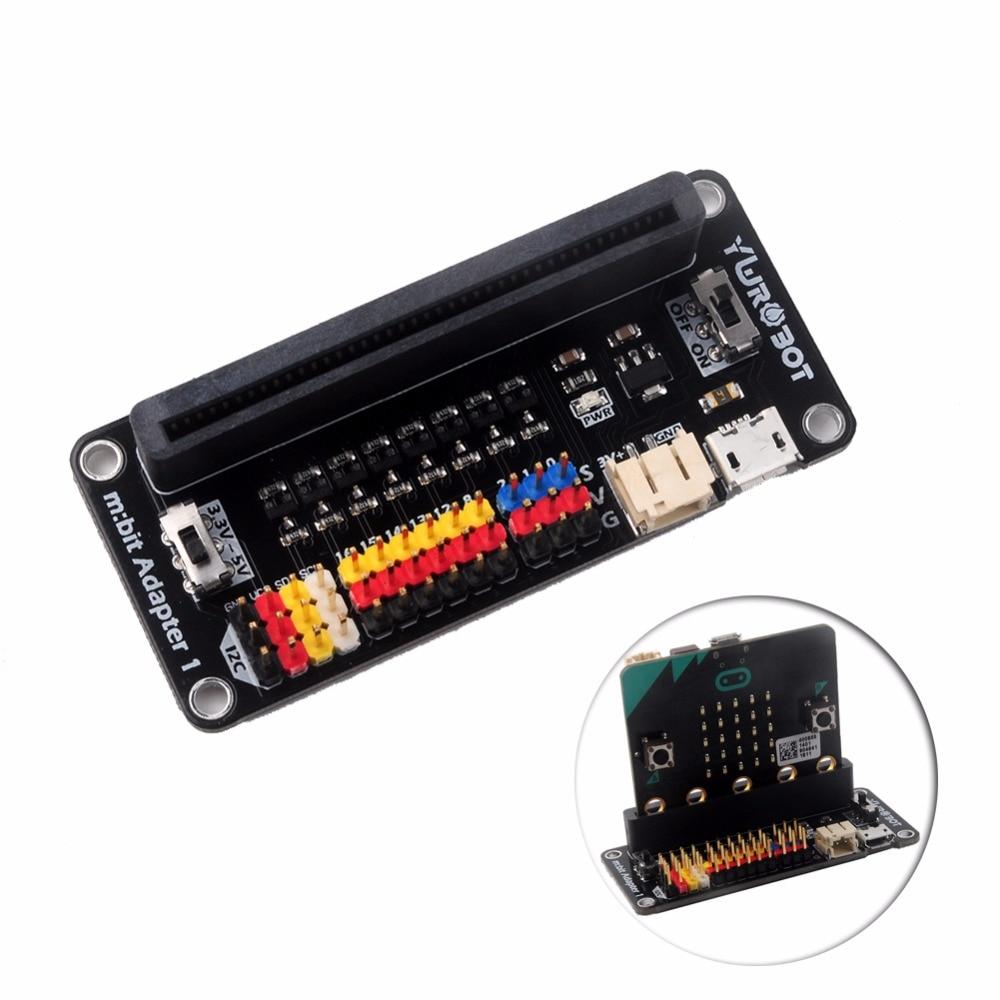 Expansion Board 3.3V-5V Level Conversion Level Shift I2C Sensor Module for BBC micro:bit microbit Kids Starter Kit FZ3244
