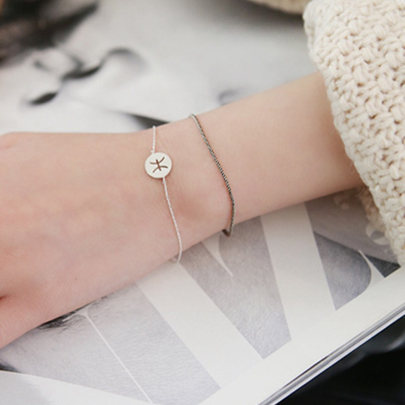 SOFINE Doce constelaciones pulsera 925 joyas de plata esterlina para - Joyas - foto 4