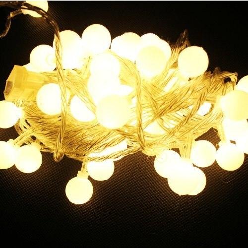 10M 100 LEDs 110V 220V étanche IP65 extérieure multicolore LED - Éclairage festif - Photo 3