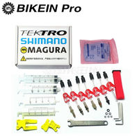 BIKEIN Bicycle Hydraulic Disc Brake Mineral Oil Bleed Kit Tools Louise Marta HS33 HS11 ECHO ZOOM