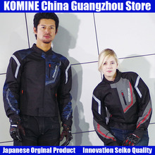 KOMINE Japanese Original Breathable Motorcycle Jacket Motorbike Riding Jacket Motorcycle Anti-fall Protective Gear Armor Clothes chinese brand scoyco am06 motorcycle armor motorbike armors chest back support riding protective device made of pp size m l xl