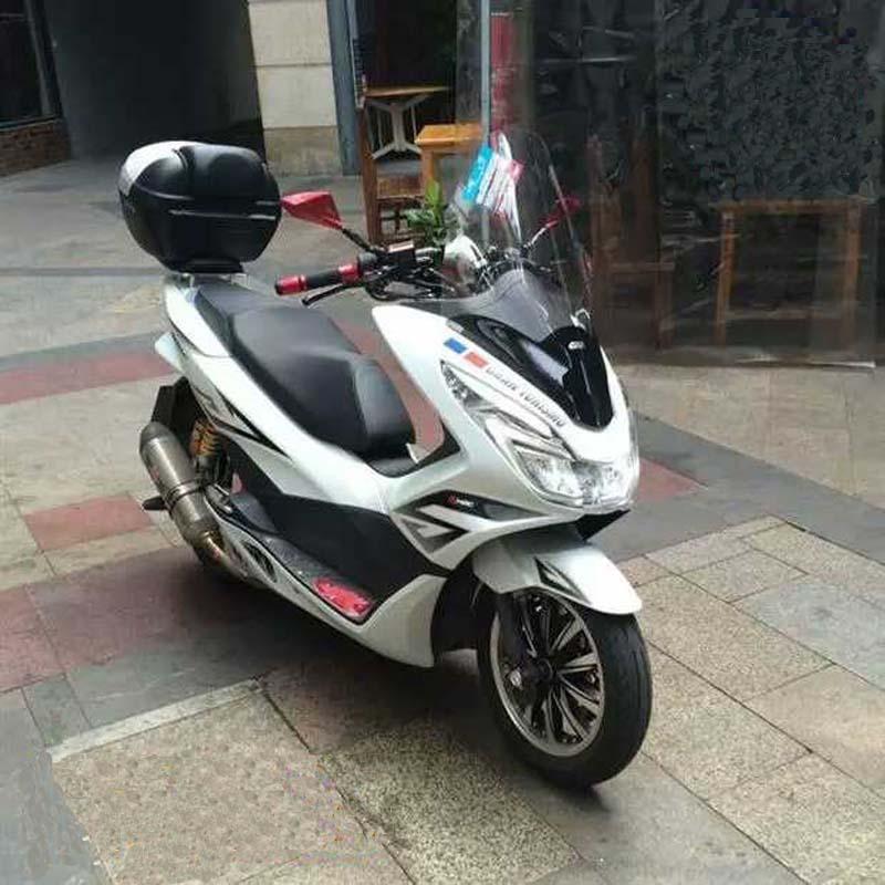 товар Motorcycle Windshield Scooter Windscreen Windscreen Wind