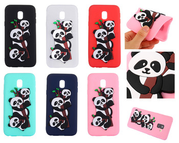 New Phone Case For Samsung Galaxy J5 2017 Cases 3D Cute Cartoon Panda TPU soft Silicon Case For Samsung J5 2017 J530 Covers