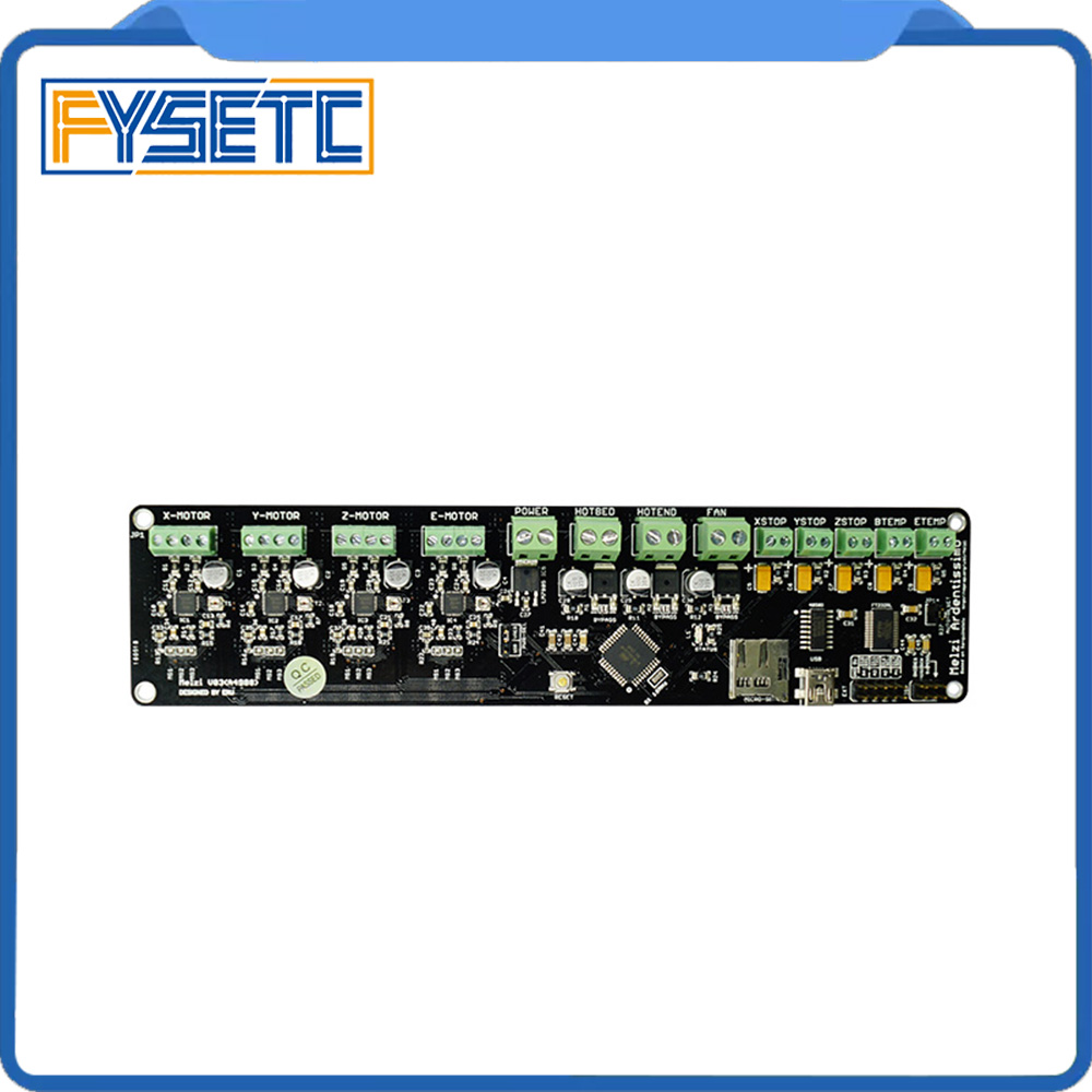 3D printer control board DIY kit part tronxy Melzi 2.0 1284P 3D PRINTER PCB BOARD IC ATMEGA1284P accessories free shipping jv33 keyboard pcb assy printer parts