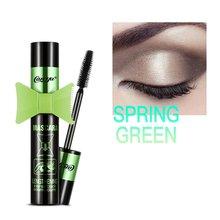 Fiber Lash Mascara Waterproof 3d Mascara For Eyelash Extension Black Thick Lengthening Eye Lashes Cosmetics все цены