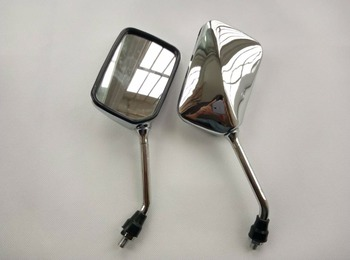 CB VTEC 400 Chrome Motorcycle Side Mirrors Rearview Mirrors Мотоцикл