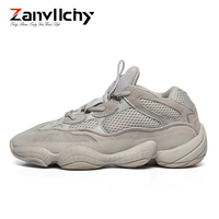 Zanvllchy Vintage Dad Sneakers 2019 Kanye Fashion West Mesh Light Breathable Men Casual Shoes Men Sneakers Y 500 Chaussure Homme