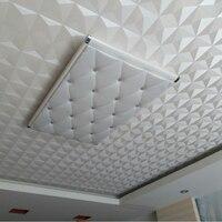 Beibehang Sufitu tapety biały romb hotelu salon tapeta sypialnia Europejska dachu sufitu tapety papel de parede