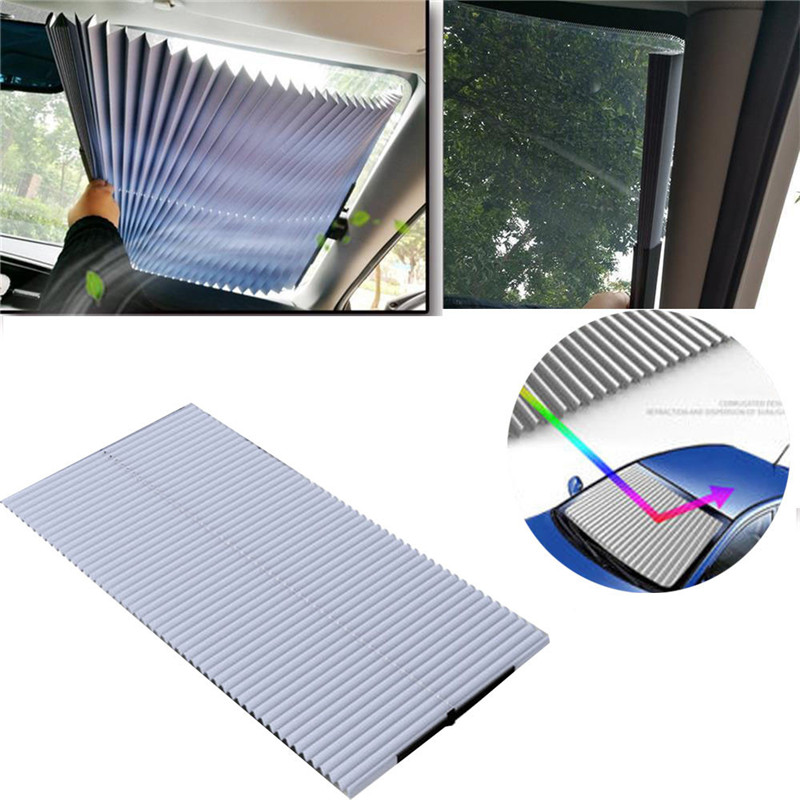 kongyide font b Car b font Sunshade font b Car b font Retractable Curtain With UV