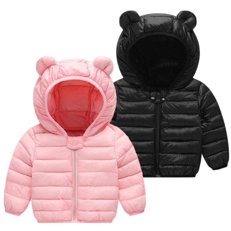100% Waar Pasgeboren Baby Meisjes Jas 2018 Herfst Winter Jas Baby Jongens Meisjes Warme Bovenkleding Jas Baby Jas Kleding Christmas Party Wear