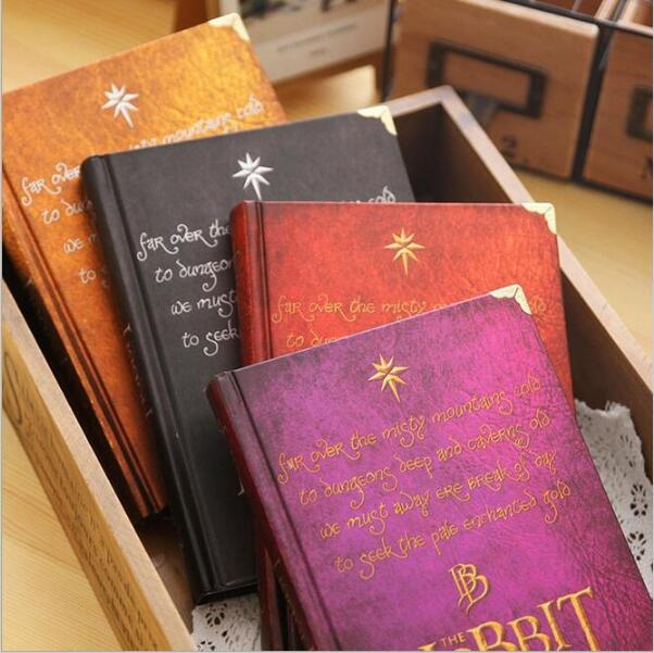 The Hobbit Notebook Gift diary Note Book Agenda planner Material escolar caderno Office stationery supplies GT104