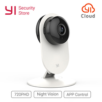 YI Home Camera 720P HD Security Video Monitor IP Wireless Network Surveillance Night Vision Alert Motion