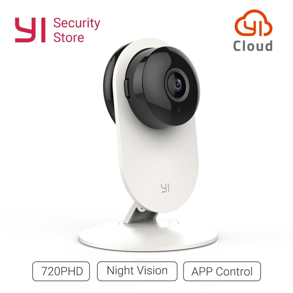 YI Cámara 720 p HD seguridad Monitor de Video IP inalámbrica de la red de vigilancia de la visión nocturna de la alerta de detección de movimiento de la UE/ nos mundial