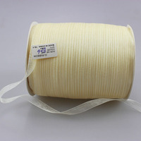 (500 Yards/lot) (10mm) Double Face BK 06# Organza Ribbon for Christmas and Birthday Gifts Wrapping Decoration Ribbons