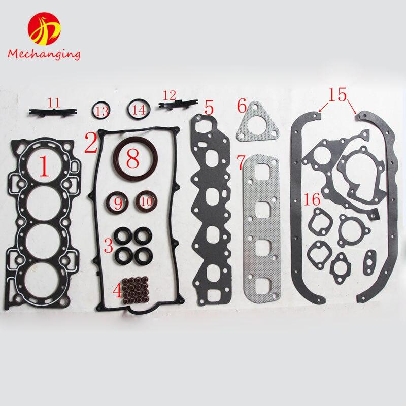 For DAIHATSU CHARADE HCE HDE HCE Engine Parts Full Set