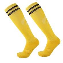 Новые футбольные носки мужские взрослые выше колена Футбол соккер регби Велоспорт хоккейные чулки длинные носки Спортивная одежда для видов спорта на открытом воздухе