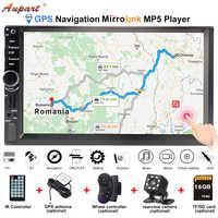 Navigation für 2 din auto gps autoradio bluetooth radio auto multimedia player 2din Kassette Recorder carplay mit android telefon