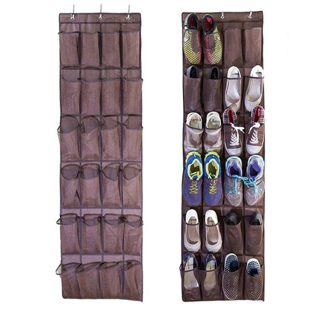 wandorganizer 24 taschen faltbare hangen schuh halter aufhanger lagerung wand organizer kunststoff schuhregal bad veranstalter regal selber machen