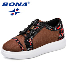BONA Canvas Children Shoes Sport Breathable Boys Sneakers Kids