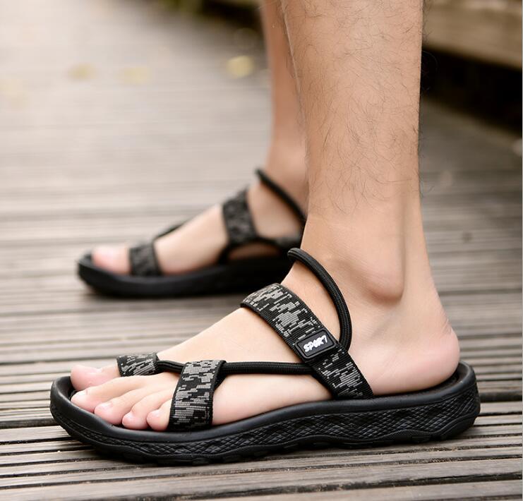 acec3a756 Big Size 2018 Summer Boys Slippers Boy Indoor Antiskid Sandals Thick bottom  Antiskid Girls Beach Flip Flops shoe  10-in Slippers from Mother   Kids on  ...