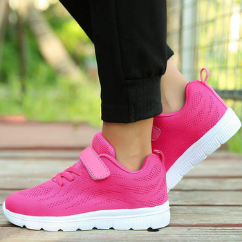 SKHEK 2019 Spring Autumn Children Shoes Boys Girls Sport Shoes Fashion Comfortable Outdoor Breathable Kids Sneakers Size 25-36 1