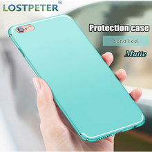 Фотография Luxury Matte Ultra Thin Protect Phone Cases For Iphone 6 6s 7 7 Plus Case Full Hard Plastic Back Cover For Iphone 8 8 Plus Case
