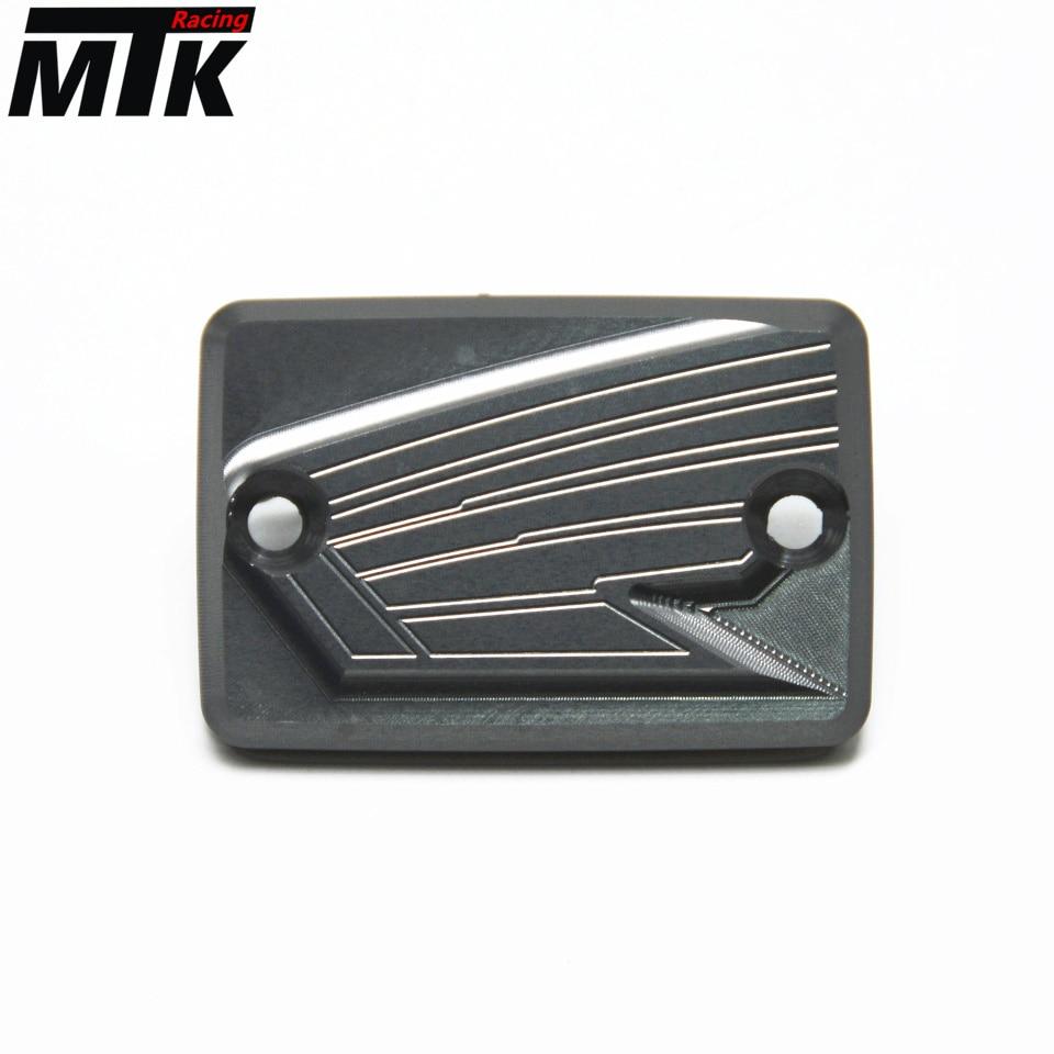 For Honda MSX(GROM) 2013-2014 CNC Aluminum Motorcycle Front Brake Fluid Reservoir Cap Cover