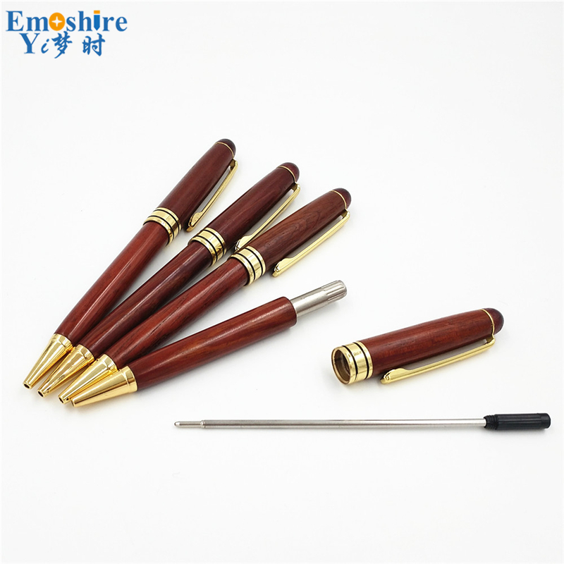 Wood Ballpoint Pen Refill Branded Ball Pens for Special Store Writing Instruments School ...