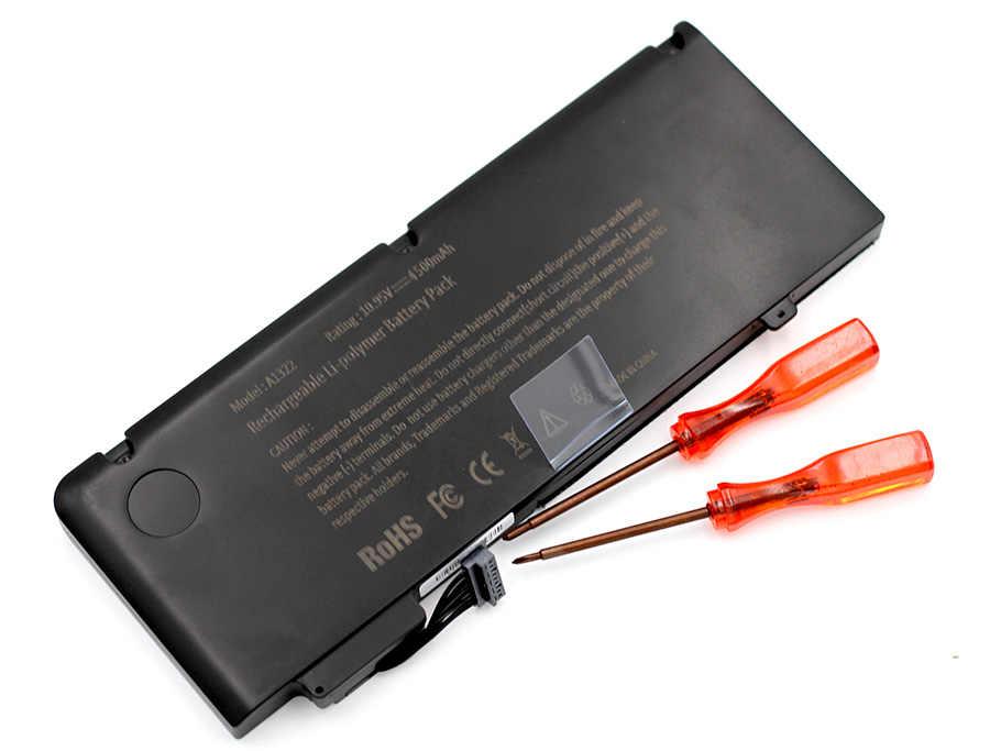 ApexWay 10.95V batterie d'ordinateur portable A1322 pour Apple MacBook Pro A1278 (2009-2010 ans) A1370 2011 MB990CH/A MB990LL/A MB991 */A