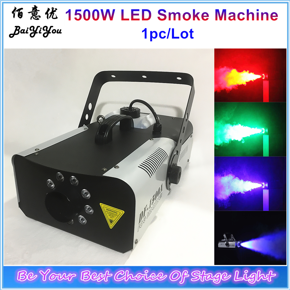 Super Jet Smoke Fog Machine Dj Dmx Stage Lighting Effect Professional Led Stage Equipment Best Fog Machine Rgb Color Fog Effect Lights & Lighting