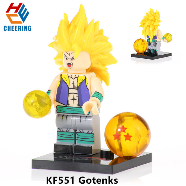 Dragon Balls Z Broli Son Goku Torankusu Gogeta Single Sale Building Blocks Figures Bricks Gift Toys For Children KF6098 | Model Building