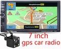 Nueva 7 pulgadas HD GPS Del Coche de Navegación 800 MHZ FM/DDR3 2016 Mapas de Europa para Rusia/Bielorrusia/kazajstán Europa/EE. UU. + Canadá CAMIÓN