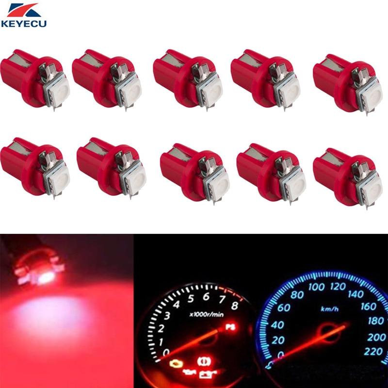 Onafhankelijk Keyecu 10 Stuks Rood 1157 Bay15d S25 12 V 21/5 W Auto Vervanging Lamp Dubbele Contact Rem Stop Licht Met Dual Filament 2019 Nieuwe Mode-Stijl Online