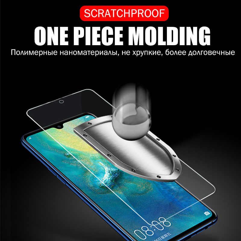 Cubierta completa de vidrio templado para Huawei P30 Mate 20 Protector de pantalla de vidrio Honor 20 Pro 7A 8X10 9 película inteligente 2019 Lite Nova 3 3i P