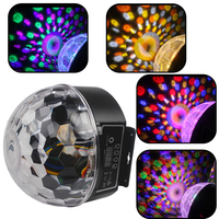 9 Colors 27W Party Disco DJ Bar Bulb Lighting Show US EU Plug Sound Control LED