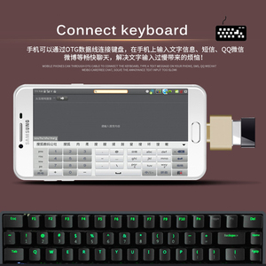 Image 5 - USB 3.0 Tipo C OTG Adattatore Micro USB OTG Converter Per Redmi Xiaomi Huawei Samsung Tastiera Mouse USB Flash disco Adattatore OTG