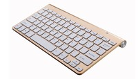 Wireless Keyboard With Bluetooth 3.0 for Apple iPad/iPhone Series/Mac Book/Samsung Phones/PC Computer