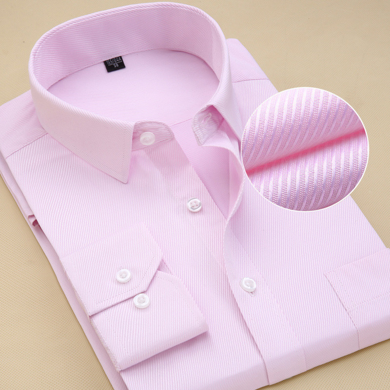 Recommend 8xl 2018 twill solid long sleeve business men dress shirts with pocket