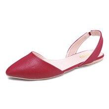 TONGPU Women's Flat PU Sandals Outdoor Summer Simple Shoes 175-373