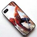 Человек-паук Marvel Comics Обложка Чехол для Apple iphone 4s 5 5S SE 5c 6 6 s 6 плюс 6 s plus ТПУ Сотовый Телефон случае
