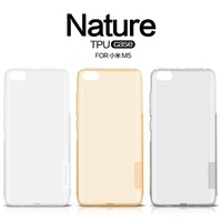Nillkin Nature Transparent Clear Soft Silicon TPU Protector Case Cover For Xiaomi Mi5 5 15 Inch