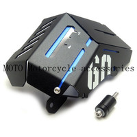 Motorcycle Radiator Water Coolant Resevoir Tank Guard Cover Frame Fairing Protector for Yamaha MT09 MT 09 FZ09 FZ 09 2014 2016