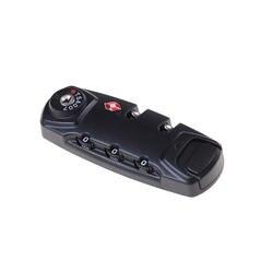 1 шт. Чемодан suitcase3 цифра Комбинации замок дорожная сумка кодовый замок черный Комбинации замок 8.3*3.1 см