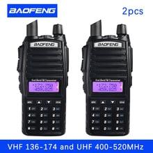 2PCS BaoFeng UV 82 Walkie Talkie 5W 8W U/V Baofeng UV 82 Headset Walkie Talkie 10 KM Baofeng UV82 8 Watt Radios uv 9r ham radio
